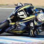 Xavi Vierge rodando en el circuito de Jerez