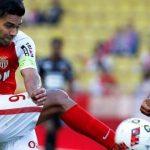 Radamel Falcao durante un partido en la Ligue 1