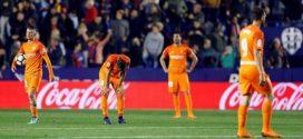 El Málaga descendió en la pasada jornada