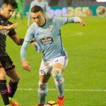 Iago Aspas delantero del Celta de Vigo