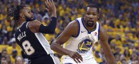 Kevin Durant, jugador más importante hoy para los Warriors