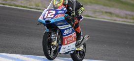 Marco Bezzechi en el circuito de Jerez