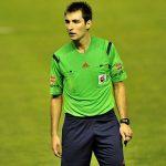 de burgos bengoetxea árbitro que dirige el Deportivo Barcelona