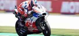 Danilo Petrucci durante la sesión de clasificación de MotoGP