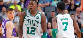 Rozier y Brown, jugadores de los Celtics