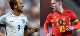 Inglaterra y Belgica se enfrentan en la última jornada de la fase de grupos
