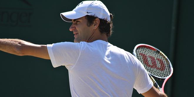 Roger Federer se perfila como favorito en Wimbledon