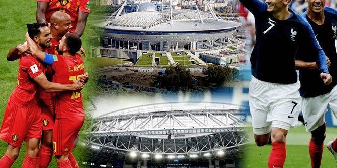 Mundial Rusia 2018: Francia – Bélgica