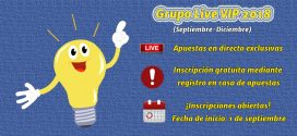 Imagen destacada Grupo Live VIP 2018 - Septiembre-Diciembre