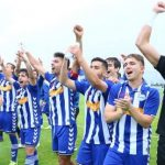 Alaves B celebrando el play off de ascenso