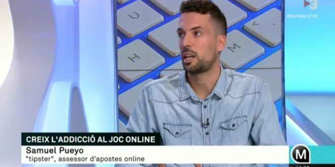 Participación en Els Matins de TV3: adicciones y apuestas online