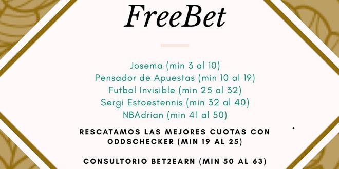 Free Bet, en Radio Marca – Programa 80