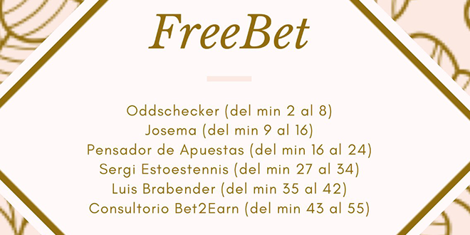 Free Bet, en Radio Marca – Programa 81