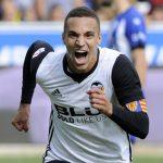 Rodrigo Moreno jugador atacante del Valencia