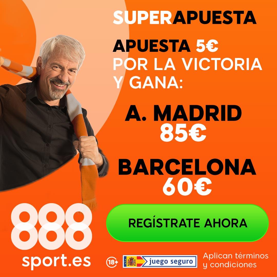 Apuesta Atletico de Madrid - FC Barcelona