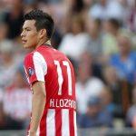 Hirving Lozano jugador del PSV