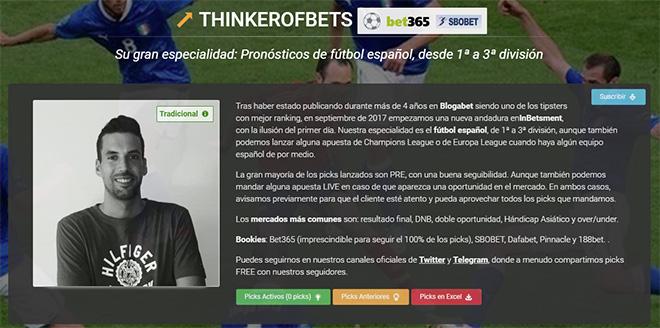 Thinker of Bets - Portada