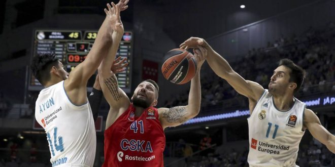 Euroliga: Real Madrid – CSKA