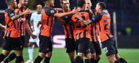 jugadores del shakhtar donetsk celebran un gol al hoffenheim