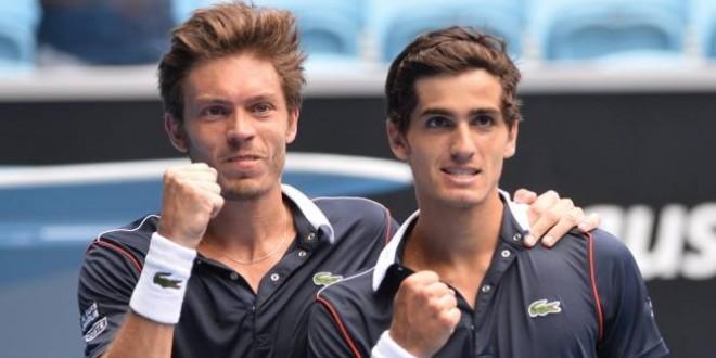 Open de Australia: Herbert/Mahut vs Harrison/Querrey