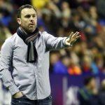 Sergio Gonzalez entrenador del Real Valladolid