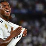 Vinicius jugador brasileño del Real Madrid