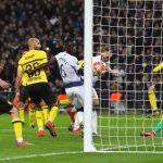 El Dortmund cayó eliminado frente al Tottenham