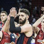 Shengelia celebra la victoria del Baskonia