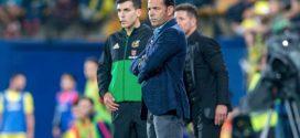 Javi Calleja entrenador del Villarreal