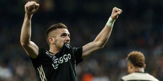 Dusan Tadic jugador del Ajax