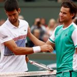 Roland Garros: Dominic Thiem vs Novak Djokovic