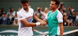 Roland Garros: Dominic Thiem vs Novak Djokovic
