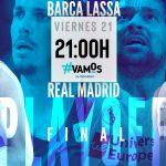 barcelona lassa real madrid cuarto partido palau blaugrana liga endesa