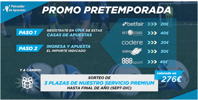 ¡Promoción PRETEMPORADA 2019-2020!