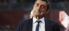 Ernesto Valverde entrenador del Barcelona