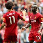 Salah y Mané jugadores del Liverpool