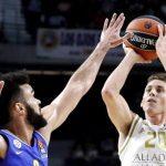 jaycee carroll triple a maccabi para ganar el partido de euroliga