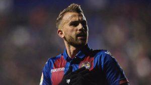 Borja Mayoral jugador del Levante