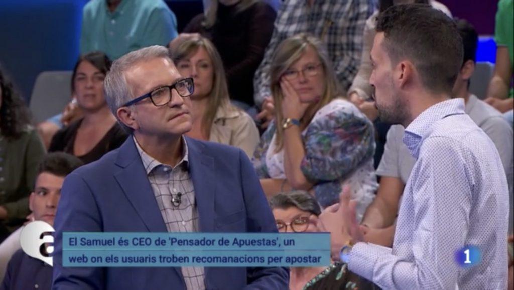 """Intervención en el programa """"Ara i Aquí"""" de TVE"""