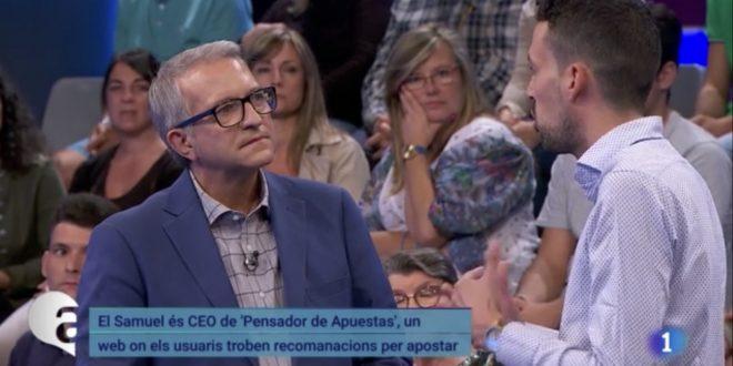 Intervención en el programa «Ara i Aquí» de TVE