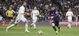 Sergio Ramos y Leo Messi