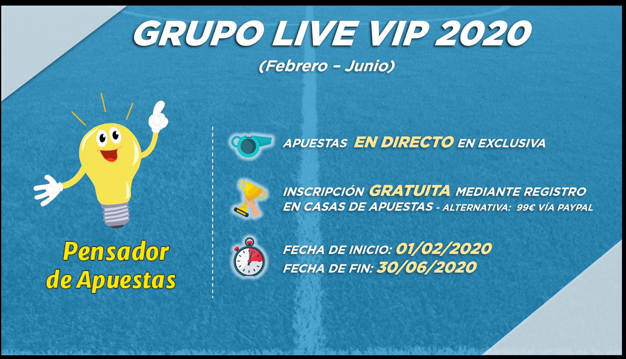 Grupo Live VIP 2020