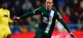 Raul de Tomas jugador del Espanyol