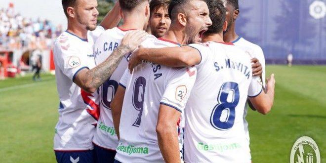 Segunda B (Grupo 1 y 2): Rayo Majadahonda – Ibiza / Valladolid B – Osasuna B