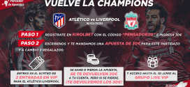 NUEVA PROMO: ¡¡VUELVE LA CHAMPIONS!!