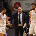 pablo laso entrenador del real madrid campeon de copa 2020