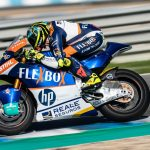 Moto2 (GP de Qatar): Comparación Baldassarri - Canet