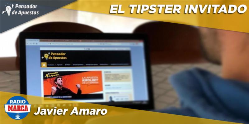 El Tipster Invitado: Javier Amaro
