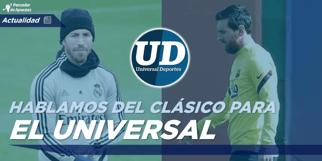¡Nueva colaboración con el diario El Universal!