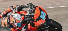 Moto2 (GP de Andalucía): Comparación Martín vs Baldassarri